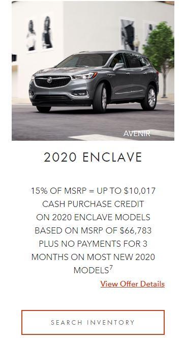 2020 Enclave Winnipeg, MB