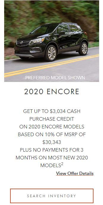 2020 Encore Winnipeg, MB
