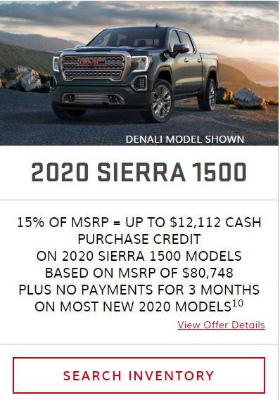 2020 Sierra 1500 Winnipeg, MB