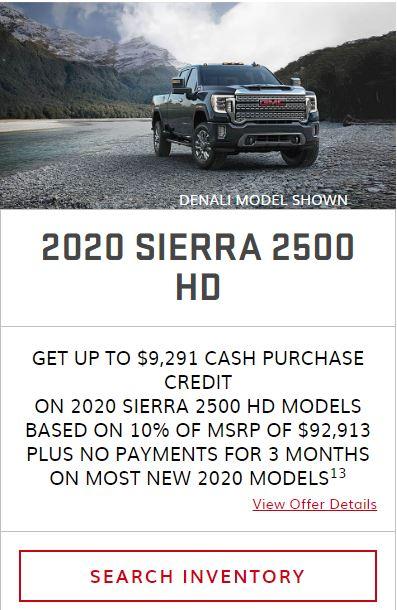 2020 Sierra 2500 Winnipeg, MB