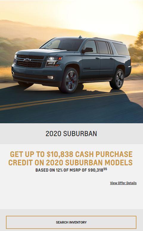 2020 Suburban, Winnipeg, MB