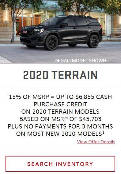 2020 Terrain Winnipeg MB