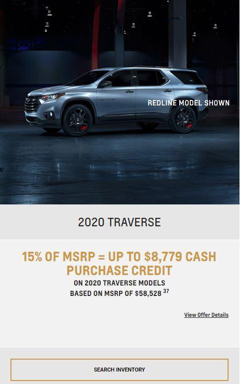 2020 Traverse Winnipeg MB
