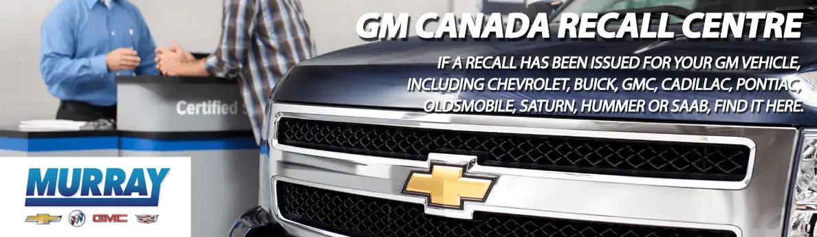 GM Canada Recall Centre