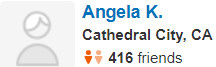 Cathedral City,CA Yelp Review