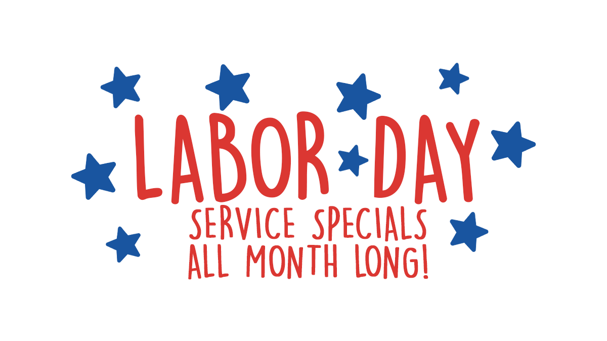 """Labor Day Savings """"Buy Tires and Save"""""""