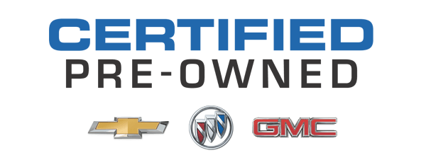 Chevrolet, Buick, GMC Certified Pre-owned