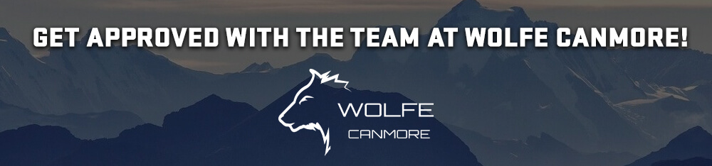 Get approved at Wolfe Canmore
