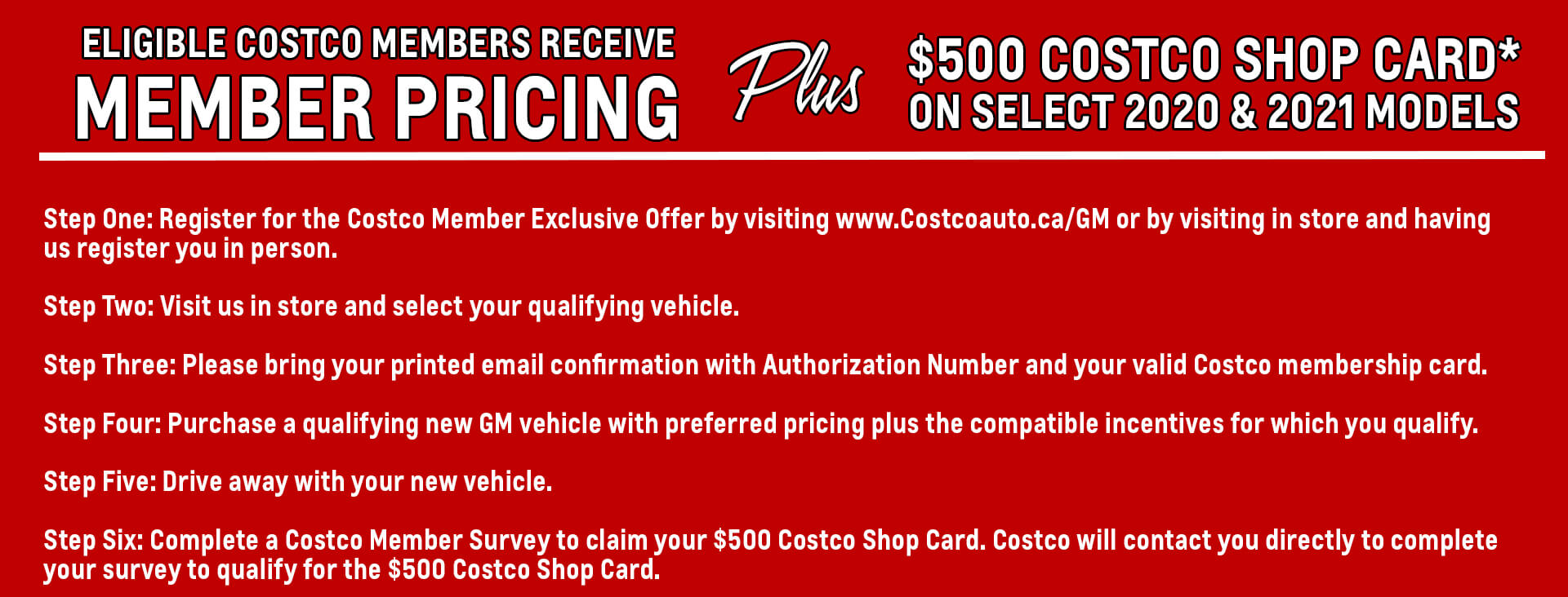 Costco Eligibility and program rules