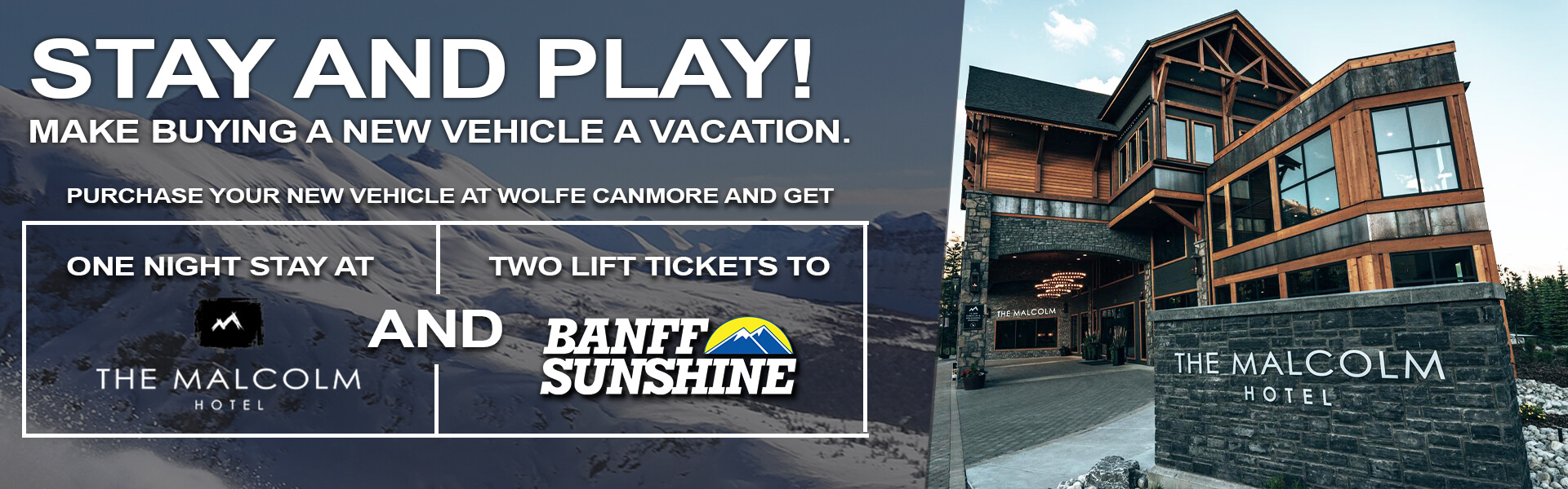 Stay & Play with Wolfe Canmore