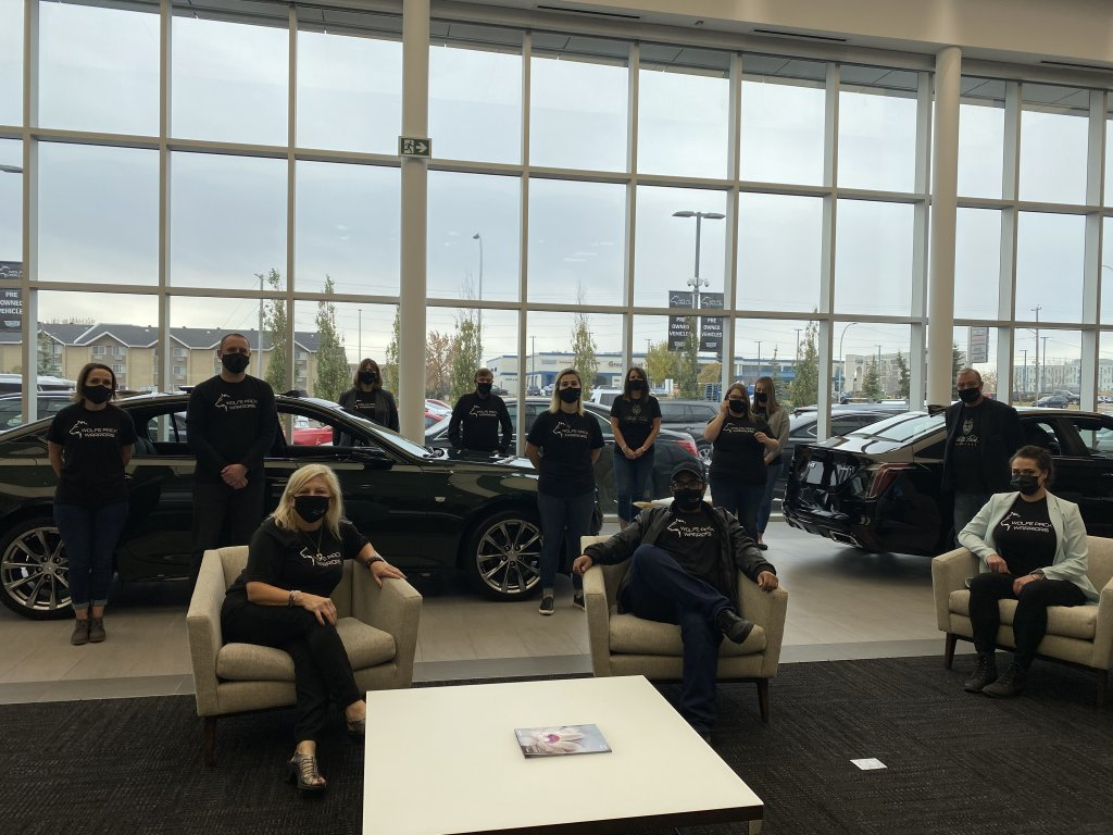 Warrior Friday at Wolfe Cadillac