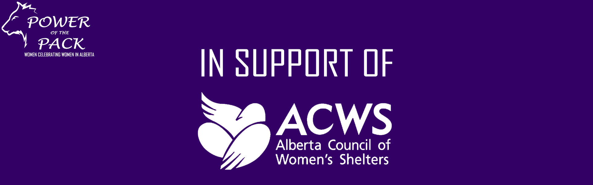 In support of the Alberta Council of Women's Shelters (ACWS)
