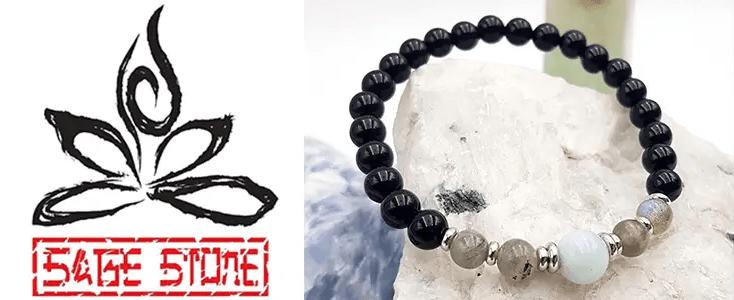 Power Of The Pack Gemstone Mala Bracelet
