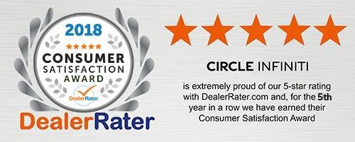 2018 DealerRater Consumer Satisfaction Reward