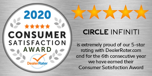 2018 DealerRater Consumer Satisfaction Reward