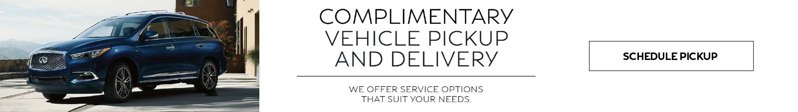 Service Pick Up & Drop-Off