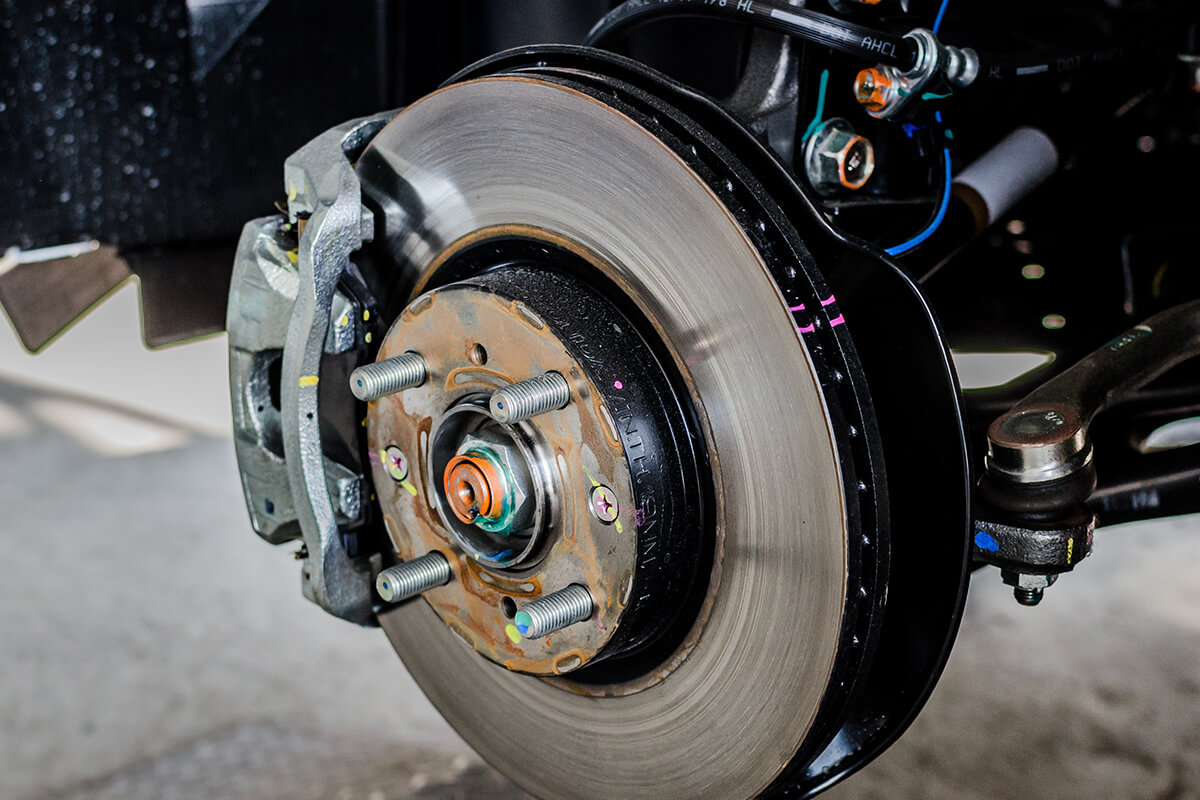 10% Off Any Complete Brake Job Service When Replacing Rotors