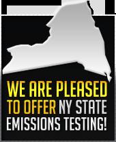 NY STATE EMISSION/SAFETY INSP.
