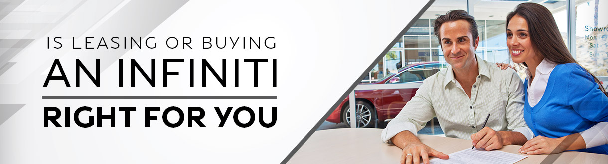 Is Leasing or Buying INFINITI Right for You? | Syracuse, NY