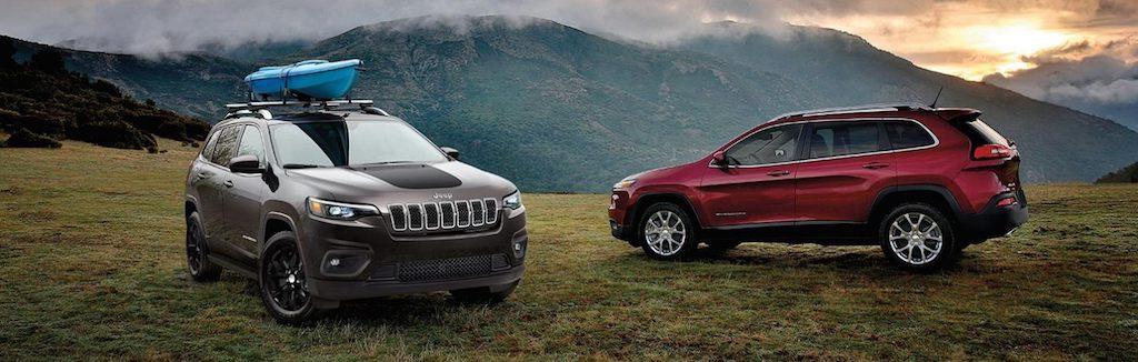 2020 Jeep Cherokee models