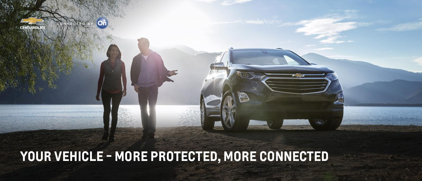 Your Vehicle - More Protected, More Connected