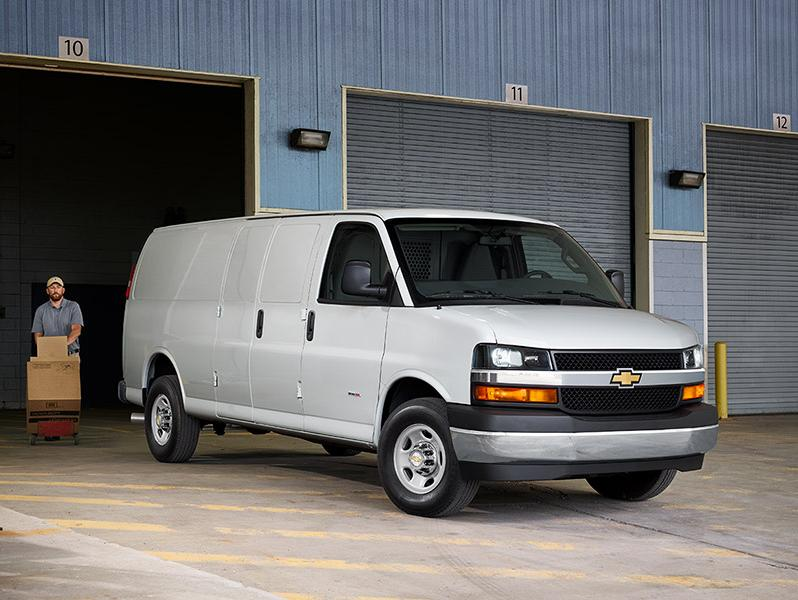 Commercial Van Inventory
