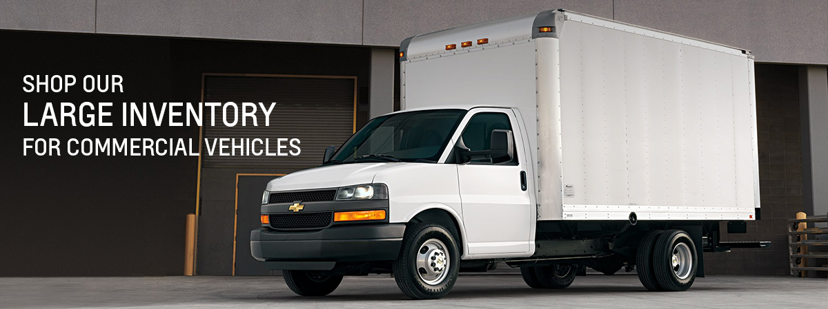 Shop Our Large Inventory for Commercial Vehicles