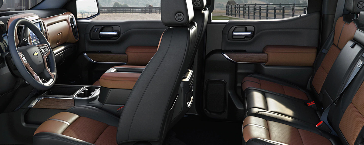 2019 Chevy Silverado interior