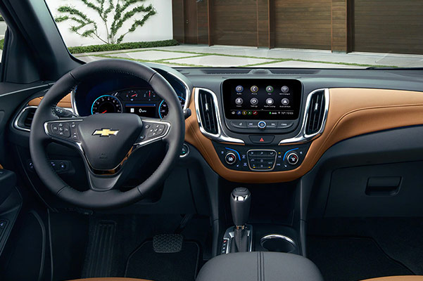 The 2019 Chevrolet Equinox Dashboard