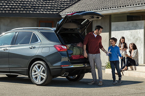 The 2019 Chevrolet Equinox Cargo