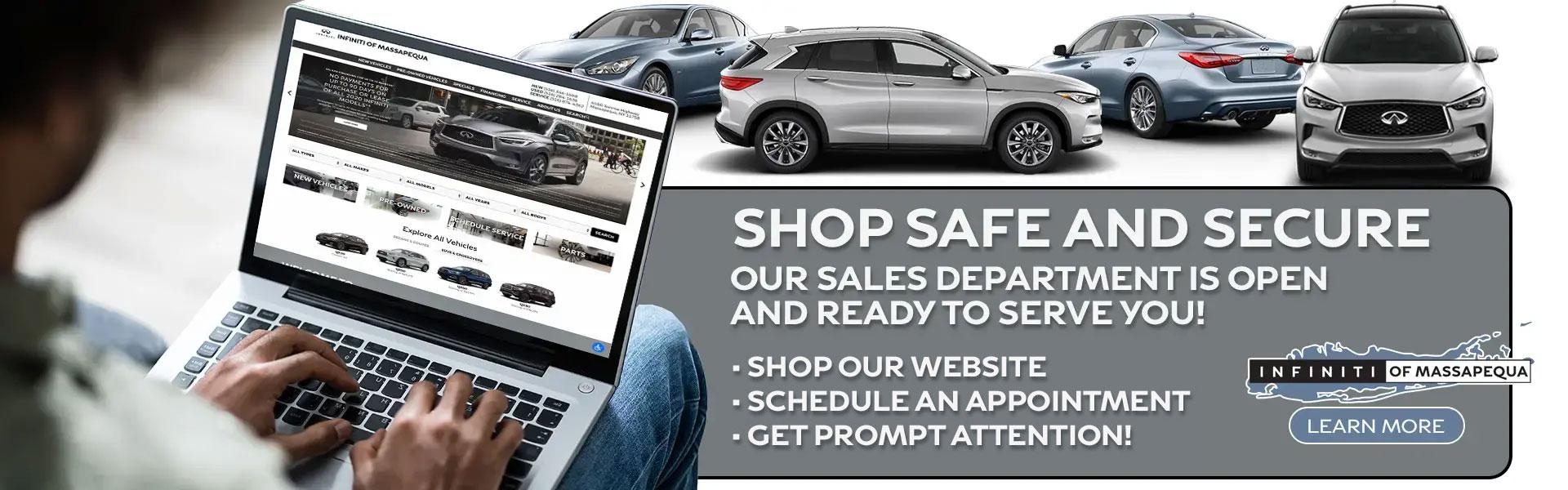 Shop Safe and Secure