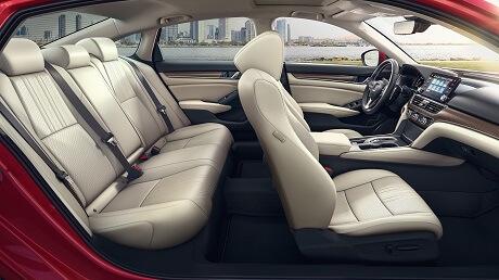 Interior Appearance of the 2021 Honda Accord available at Midlands Honda