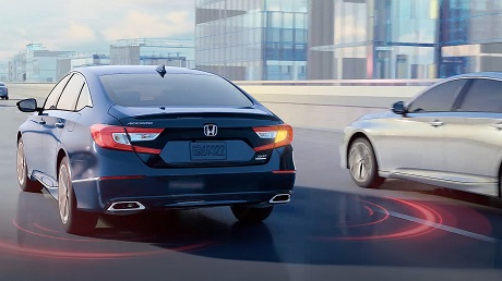 Safety Feature of the 2021 Honda Accord available at Midlands Honda