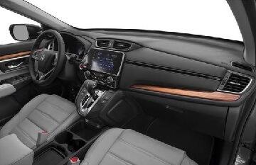 Interior appearance of the 2021 Honda CR-V available at Midlands Honda