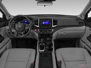Interior appearance of the 2021 Honda Pilot available at Midlands Honda
