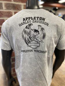 men's harley-davidson tee back tie-dye vintage inspired