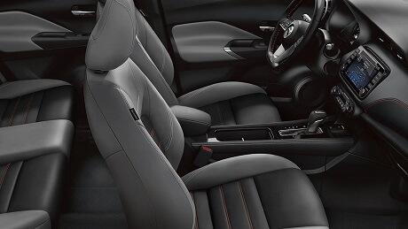 Interior Appearance of the 2021 Nissan Kicks available at Gastonia Nissan