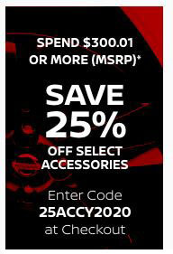 Save 25% when you spend $300.01 (MSRP)* or more on accessories