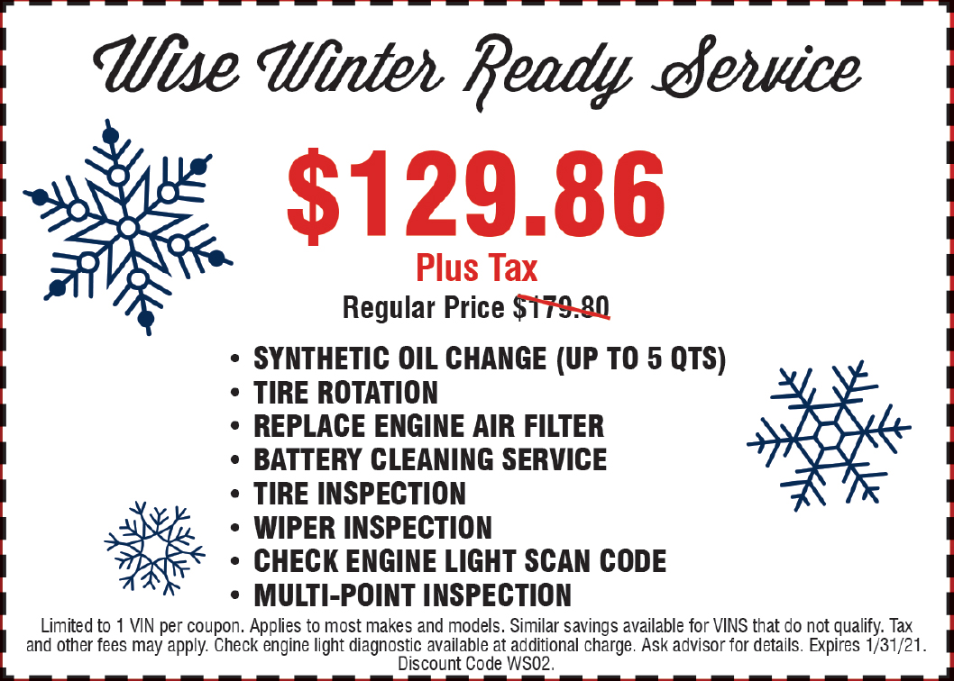 Wise Winter Ready Service
