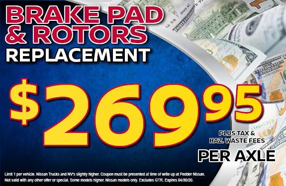 Brake Pads & Rotors Replacement