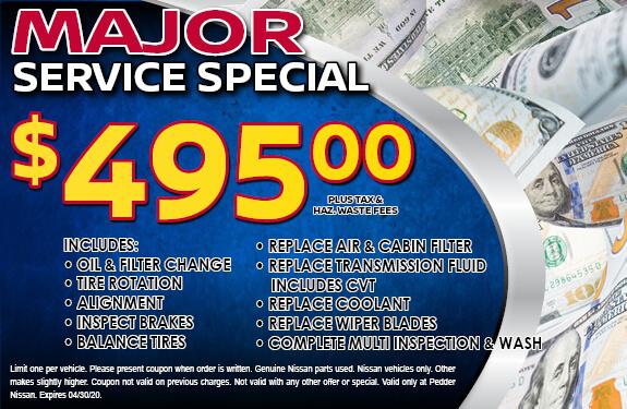 Major Service Special
