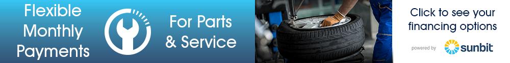 Service & Parts Financing