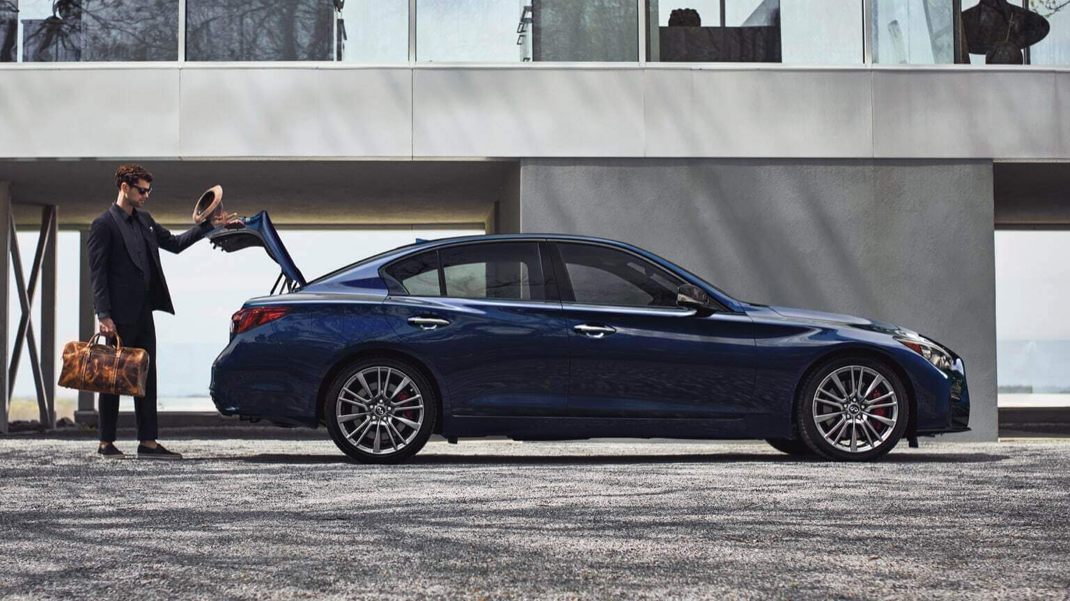 2021 Infiniti Q50 with refreshed styling and color pallette