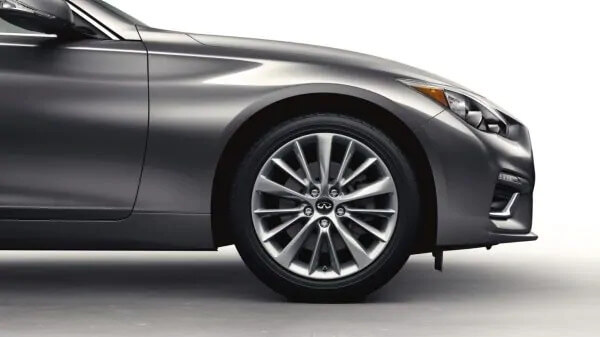 2021 Infiniti Q50 with available black r-code roof