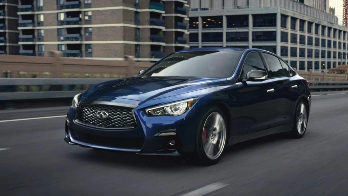 2021 Infiniti Q50 for sale with android auto at dealership near(placeholder-city)