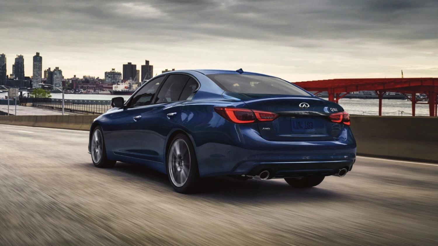 2021 Infiniti Q50 for sale with available smart key system and push button start at dealership