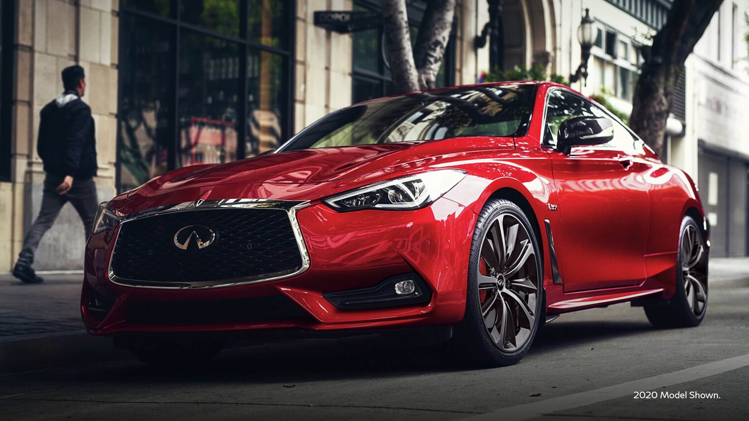 2021 Infiniti Q60 with an elevated design expression