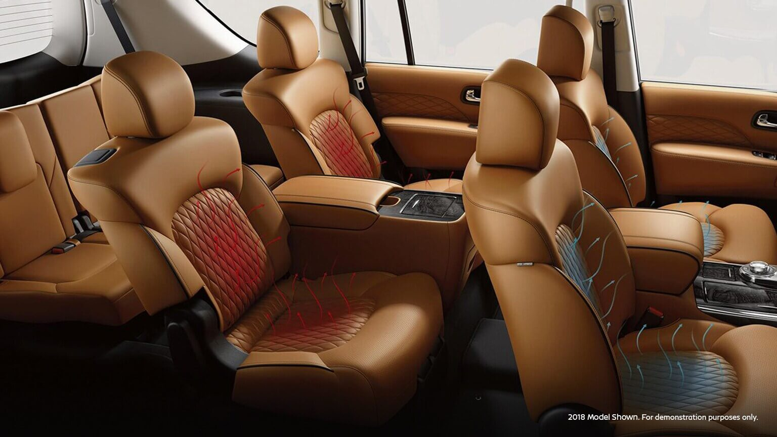 2021 Infiniti Qx80 with dual climate control seats