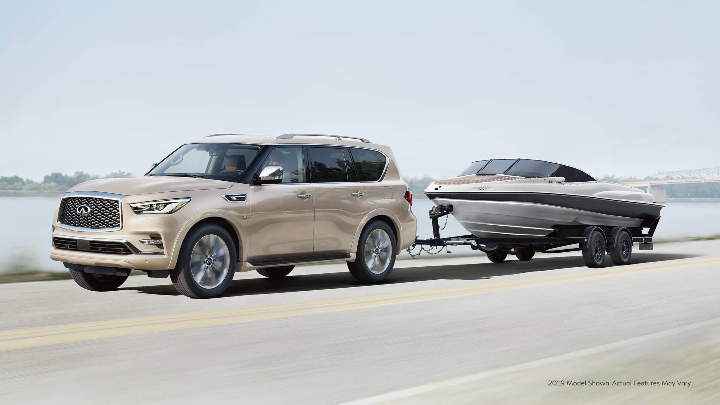 2021 Infiniti Qx80 with 5.6 liter v8 engine