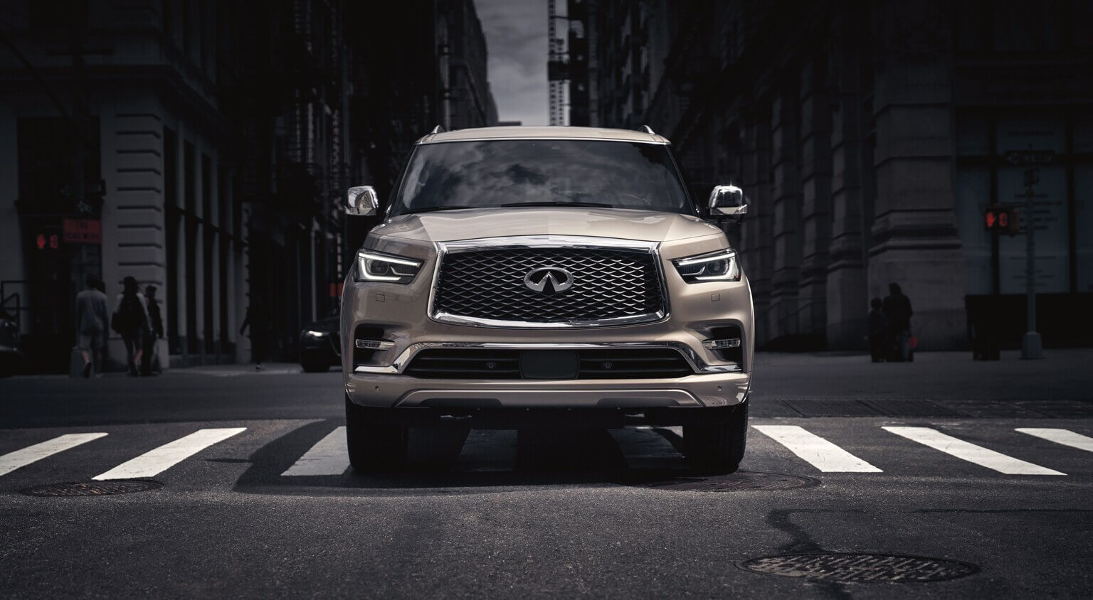 2021 Infiniti Qx80 for sale with collision notification at dealership near(placeholder-city)
